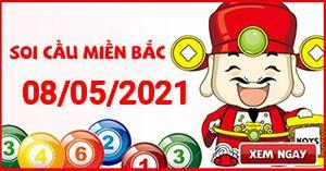 Soi cầu XSMB 08-05 - Dự đoán xổ số Miền Bắc ngày 08/05/2021