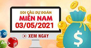 Soi cầu XSMN 03-05 - Dự đoán xổ số Miền Nam ngày 03/05/2021